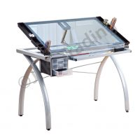 Modern Glass Drafting Table