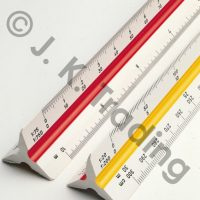 Aluminum Scale Ruler