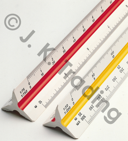 Aluminum Scale Ruler