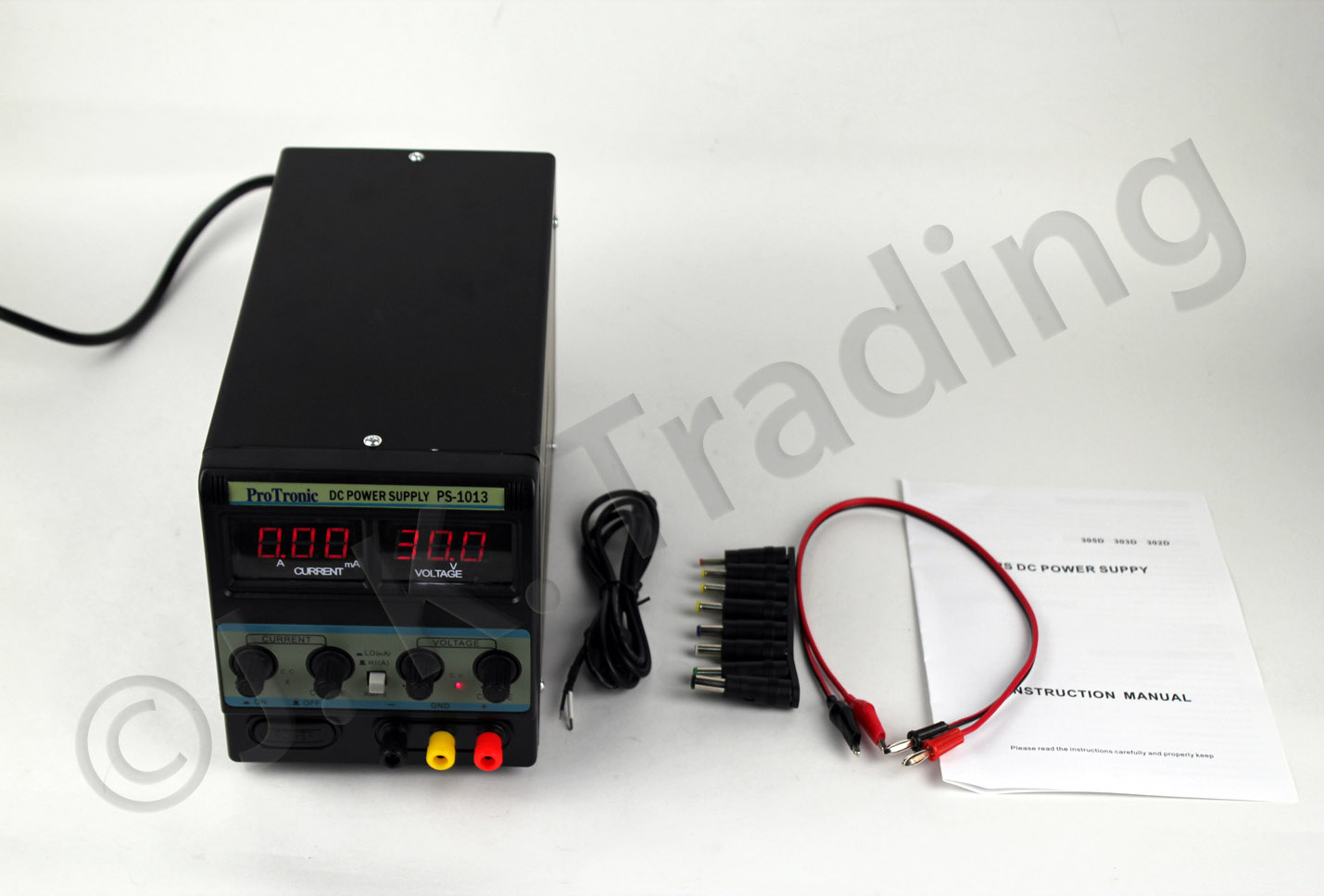 DC power supply units (two of them!) now available through JK Trading