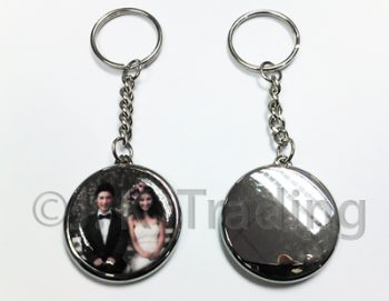 Keychain blank badges