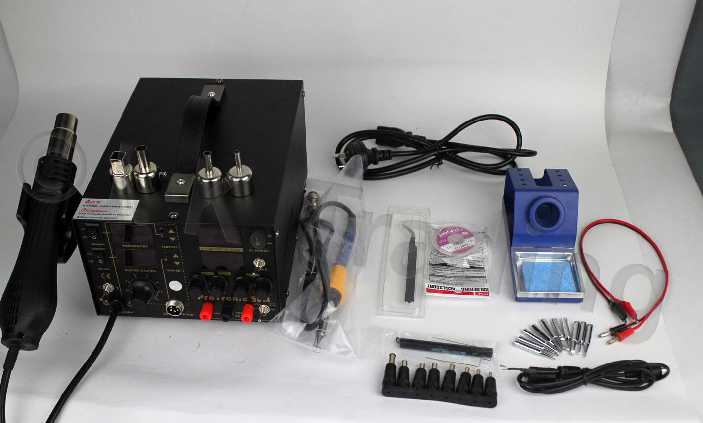 Four soldering irons now available on JK Trading
