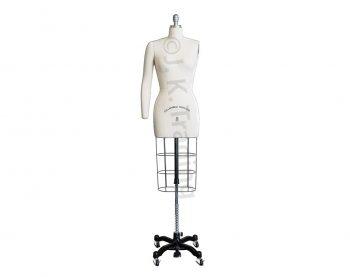 Female Dressmaker Mannequin with Detachable Arm