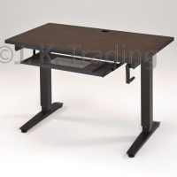 Height Adjustable Standing Desk Wood Top