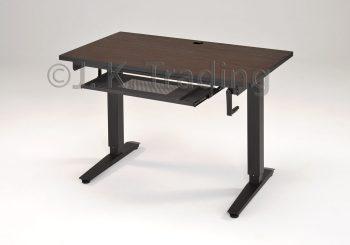 Height Adjustable Standing Desk Wood Top