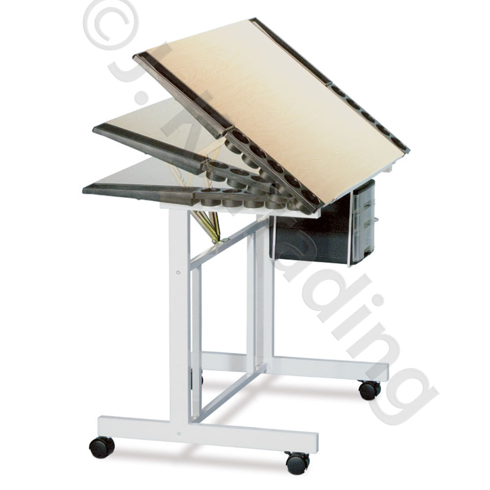 Wood drafting and drawing table classic - Drafting table designs ...